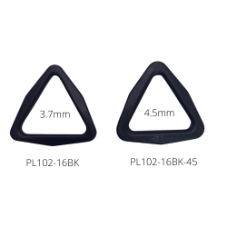 Plastic Tri-Ring-Multiple Sizes, Colors & Widths Available