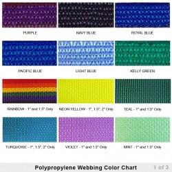 Lightweight Polypropylene Webbing