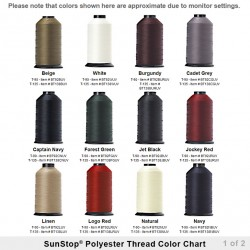SunStop<sup>®</sup> Polyester UV Sewing Thread