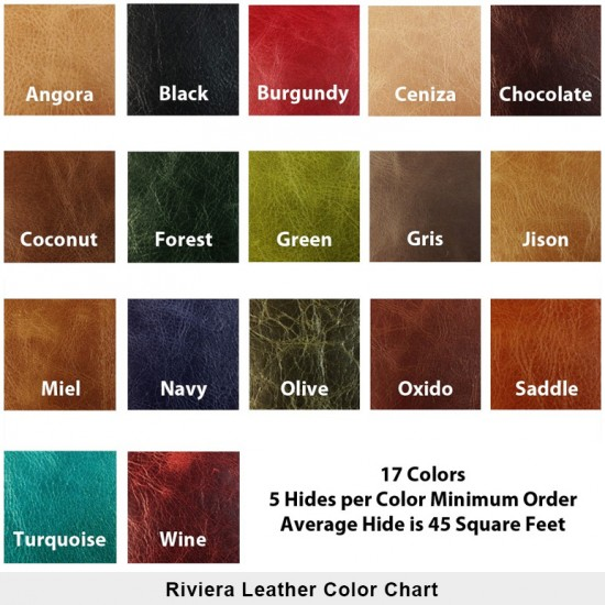 Riviera Leather Hides