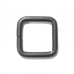 WR12X13-8BS - #8 Gauge Rectangle Ring