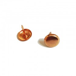Decorative Nail, Copper Plated Flat