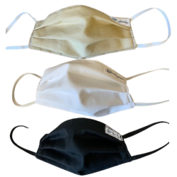 3-Pack Neutral Colored Face Masks