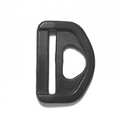 Five Ring Slotted D-Ring - Multiple Sizes