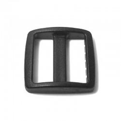 Black Pet Collar Tri-Glide - (PL-1092)
