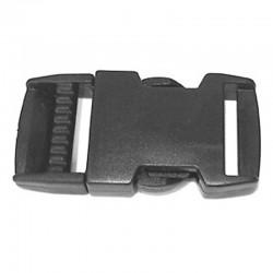 Side Release Buckle, Black Plastic - (PL211)