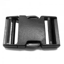 Dual Side Release Buckle, Black Plastic - (PL211D)
