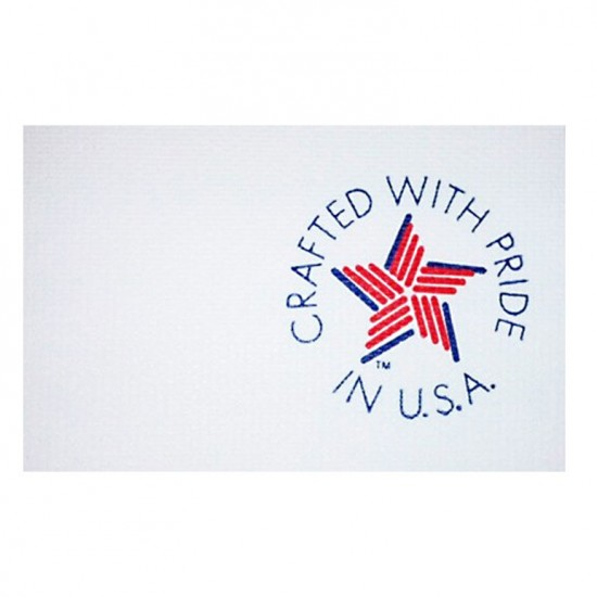 Crafted with Pride in USA - Tyvek<sup>®</sup> Tag