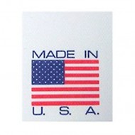 Made in USA - Printed Tyvek<sup>®</sup> Tag