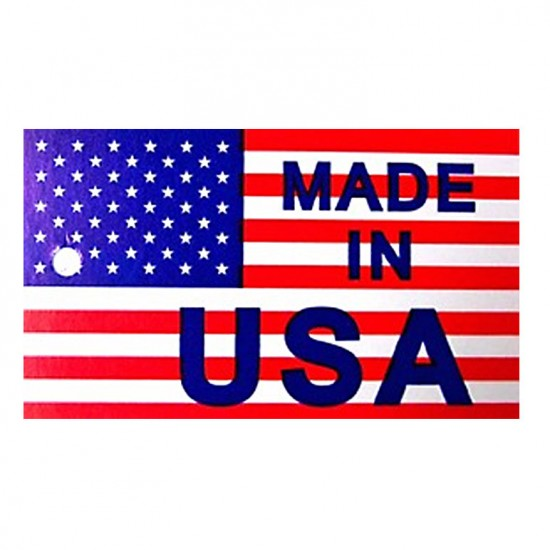 Made in USA - Printed Hang Tag with Hole
