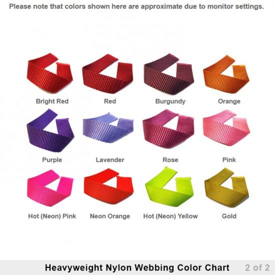 Heavyweight Nylon Webbing